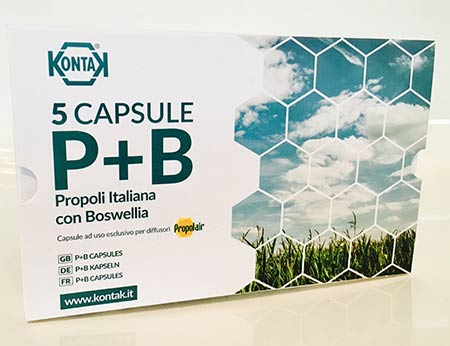Propolair Propolis and Boswellia Capsules for Diffusers