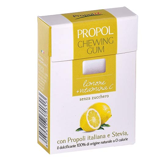 Sugar free chewing gum - Lemon and vitamin C